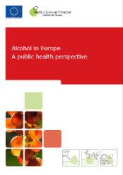 Cover of Alcohol in Europe report